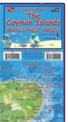 Franko Maps Franko\'s Cayman Islands, British West Indies Guide ...