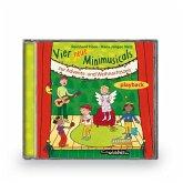 Vier neue Minimusicals zur Advents- und Weihnachtszeit, Audio-CD