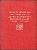 The Late Bronze Age and Early Iron Ages of Central Transjordan: The Baq'ah Valley Project, 1977-1981