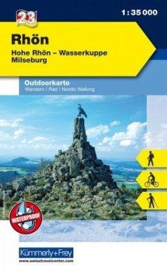 Kümmerly & Frey Outdoorkarte Rhön