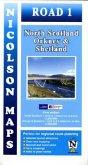 Nicolson Map North Scotland, Orkney & Shetland