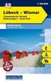 Kümmerly & Frey Outdoorkarte Lübeck - Wismar