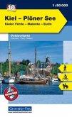 Kümmerly & Frey Outdoorkarte Kiel, Plöner See