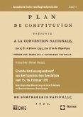 Gironde-Verfassungsentwurf aus der französischen Revolution vom 15./16. Februar 1793
