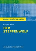Textanalyse und Interpretation zu Hermann Hesse. Der Steppenwolf