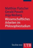 Wissenschaftliches Arbeiten im Philosophiestudium