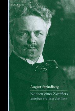 Notizen eines Zweiflers - Strindberg, August