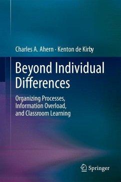 Beyond Individual Differences - Ahern, Charles A.;de Kirby, Kenton