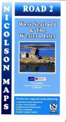 Nicolson Map West Scotland & The Western Isles
