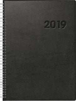 rido Buchkalender 2019 Conform A4 Wire-O Kunststoff schwarz