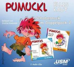 Pumuckl, Schabernack im Doppelpack / Pumuckl Bd.4/9 (2 Audio-CDs) - Kaut, Ellis