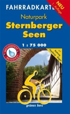 Fahrradkarte NP Sternberger Seen 1 : 75 000