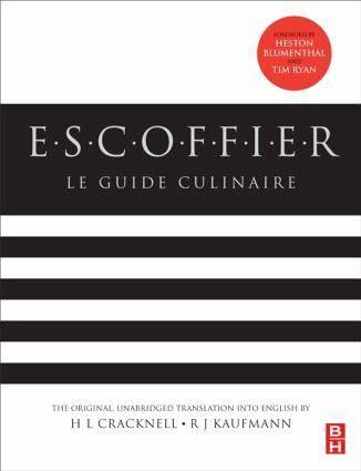 Escoffier von auguste escoffier englisches buch for Auguste escoffier ma cuisine book