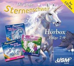 Die große Sternenschweif Hörbox, 3 Audio-CDs - Chapman, Linda