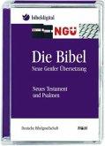NGÜ, Die Bibel - Neue Genfer Übersetzung, Neues Testament und Psalmen, 1 CD-ROM / Bibelausgaben