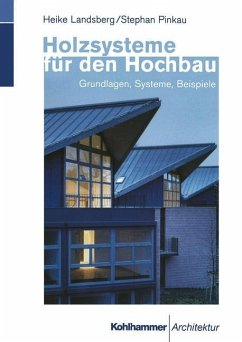 Holzsysteme für den Hochbau - Landsberg, Heike; Pinkau, Stephan