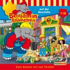 Benjamin Blümchen auf der Baustelle / Benjamin Blümchen Bd.118 (1 Audio-CD)