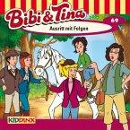 Ausritt mit Folgen / Bibi & Tina Bd.69 (1 Audio-CD)
