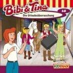 Die Urlaubsüberraschung / Bibi & Tina Bd.68 (1 Audio-CD)