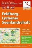 Klemmer Pocket Rad-, Wander- und Paddelkarte Feldberg - Lychener Seenlandschaft 1 : 50 000