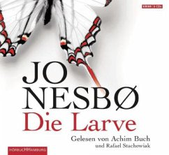 Die Larve / Harry Hole Bd.9, 6 Audio-CDs - Nesbø, Jo