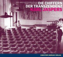 Die Chiffern der Transzendenz, Audio-CD - Jaspers, Karl