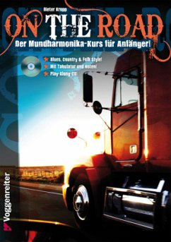 On The Road, für Blues Harp, m. Audio-CD - Kropp, Dieter