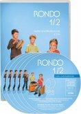 1./2. Schuljahr, 4 Audio-CDs und 1 DVD-Video mit Demo-Clips / Rondo, Musiklehrgang für die Grundschule, Neubearbeitung