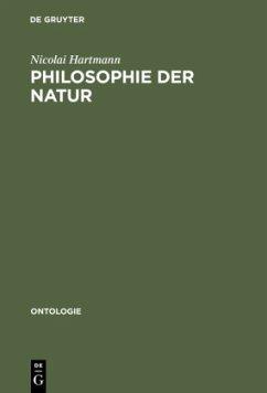 Philosophie der Natur - Hartmann, Nicolai