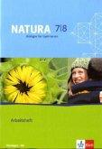 Natura - Biologie für Gymnasien. Neubearbeitung. Arbeitsheft 7./8. Schuljahr für Thüringen