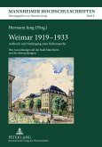 Weimar 1919-1933