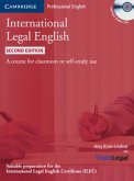 International Legal English. Student's Book + 3 Audio-CDs