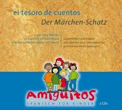 El tesoro de cuentos; Der Märchenschatz, 2 Audio-CDs - Buschhorn-Walter, Juliane; Holten, Claudia von