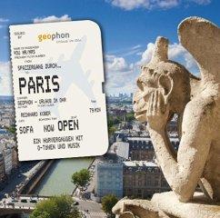 Spaziergang durch Paris, 1 Audio-CD - Kober, Reinhard