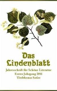 Das Lindenblatt. Titelthema: Satire