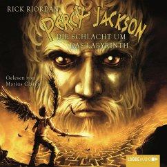 Die Schlacht um das Labyrinth / Percy Jackson Bd.4 (MP3-Download) - Riordan, Rick