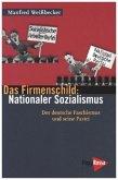 Das Firmenschild: Nationaler Sozialismus
