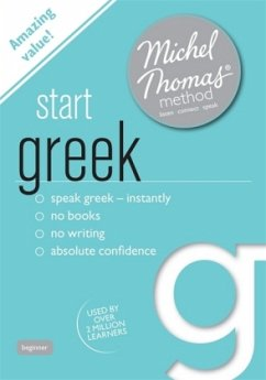 Start Greek, Audio-CD - Thomas, Michel; Garoufalia-Middle, Hara; Middle, Howard
