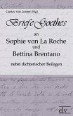 Briefe Goethes an Sophie von La Roche und Bettina Brentano nebst dichterischen Beilagen