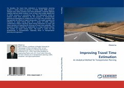 Improving Travel Time Estimation