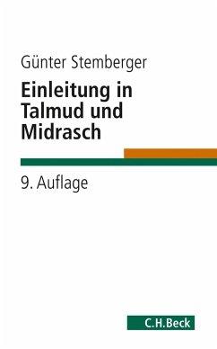 Einleitung in Talmud und Midrasch - Stemberger, Günter