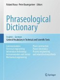 Phraseological Dictionary English - German