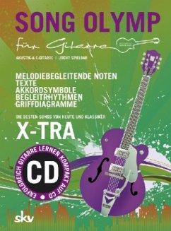 Song Olymp für Gitarre, m. Audio-CD