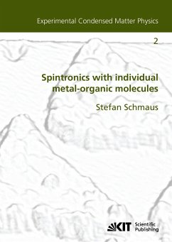 Spintronics with individual metal-organic molecules