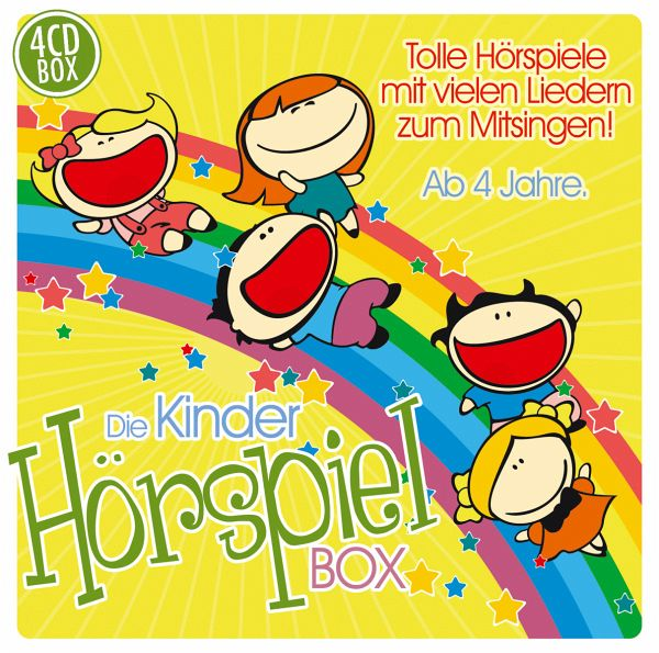 die kinder h rspiel box von various h rbuch b. Black Bedroom Furniture Sets. Home Design Ideas