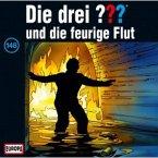 Die drei Fragezeichen und die feurige Flut / Die drei Fragezeichen - Hörbuch Bd.148 (1 Audio-CD)