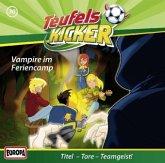 Vampire im Feriencamp! / Teufelskicker Hörspiel Bd.30 (1 Audio-CD)