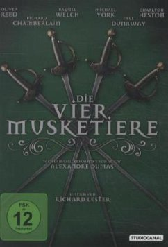 Die vier Musketiere der Königin - York,Michael/Heston,Charlton