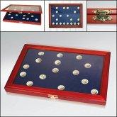 Münzen-Vitrinen für 40 St. 2-Euro-Münzen