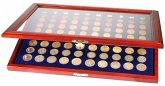 Münzen-Vitrinen für 10 St. Komplette Euro-Sätze